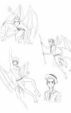 Gargoyle-Sketches